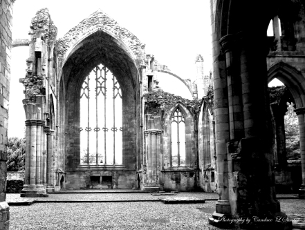 Melrose Abbey, Edinburgh