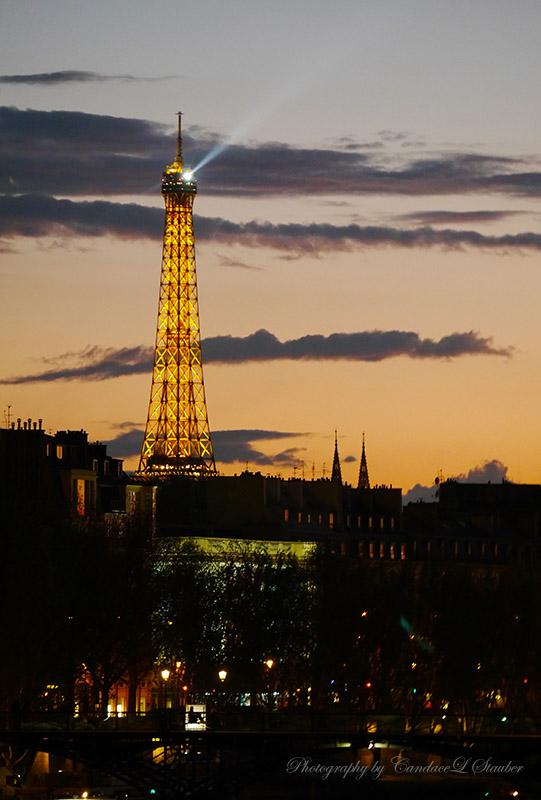 Paris, Eiffel Tower Lights