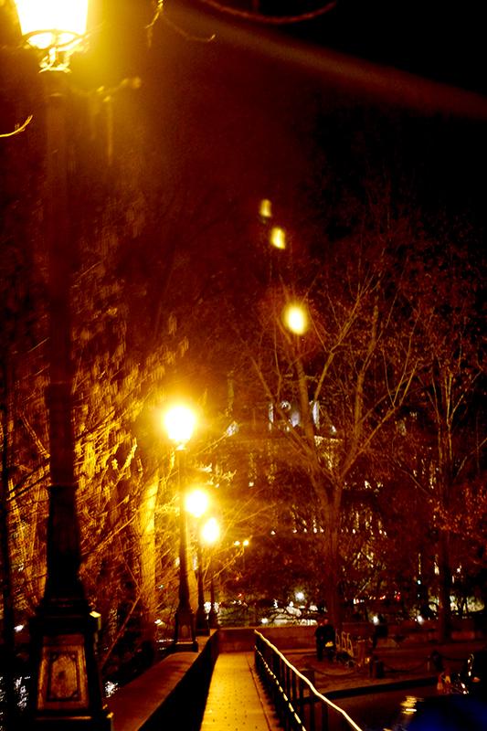 Paris Stroll at Night