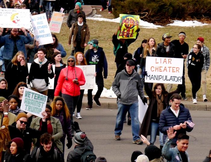 Inaugural Protest 2017-2 -Denver, Colorado