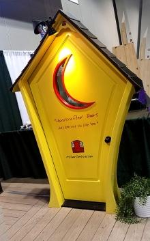 Yellow Whimsical Doors