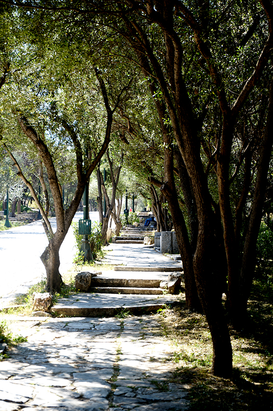 Hill of the Muses Pathway