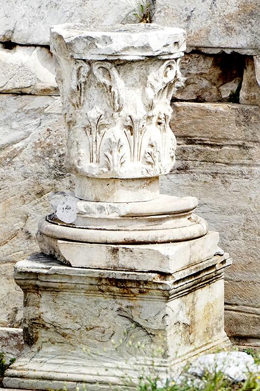 Greek Ruins at Hadrians Library