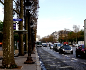 Champs-Elysees Paris, France