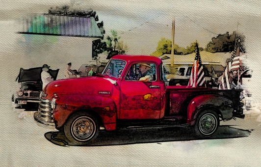 parade-oldredchevy2