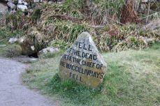 Culloden Field Clan Marker