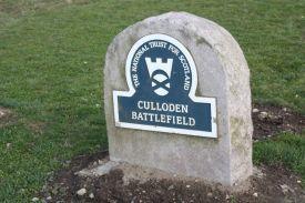 Culloden Battlefied Marker