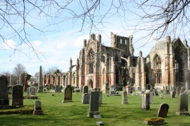 Melrose Abbey, my favorite