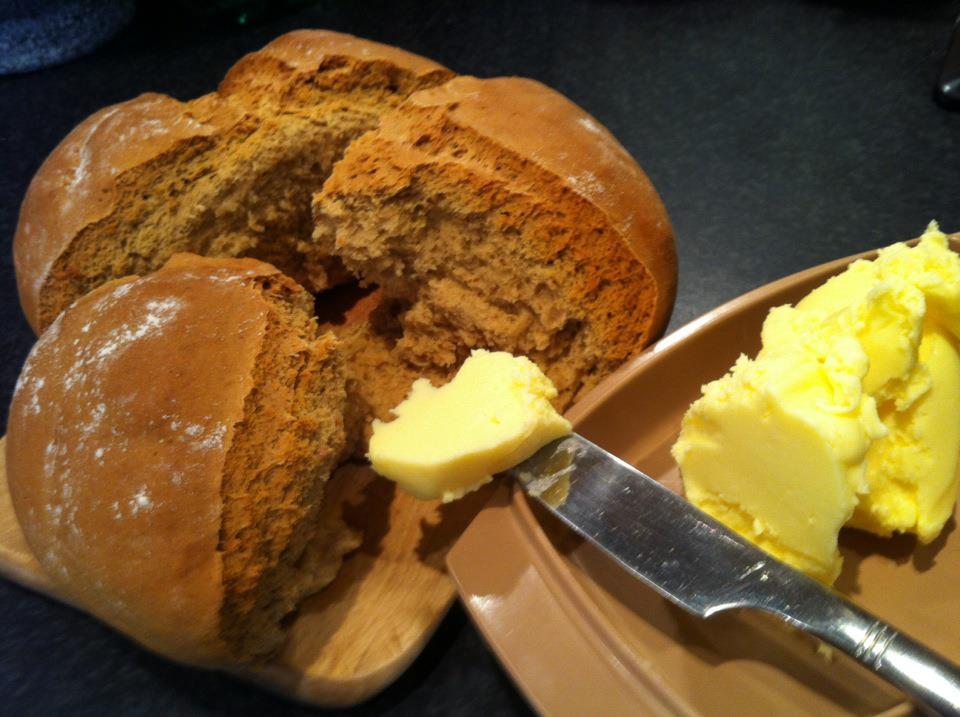 homemade-bread-and-butter